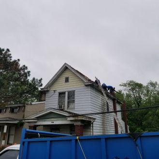 New Shingles New Gutter